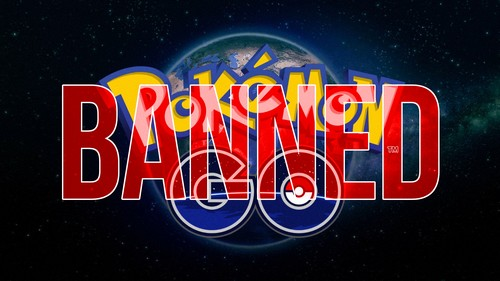 Бан в игре Покемон Го